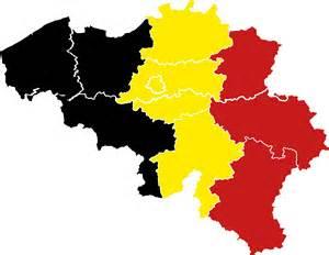 linguistic map of belgium belgium