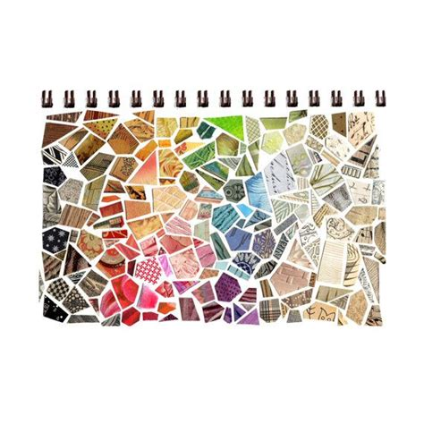 How To Make A Paper Mosaic Collage - 17 best images about sketchbooks on