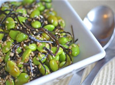edamame for dogs of pods and poetry arame and edamame salad diet dessert and dogs