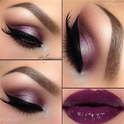 Shinys New And Makeup by 9 Shiny Purple With Purple Eye Shadow 28