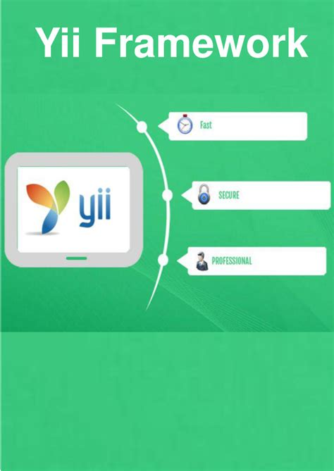 tutorial yii framework pdf yii framework for web application authorstream
