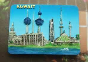aliexpress kuwait kuwait tourist souvenir 3d resin decorative fridge magnet