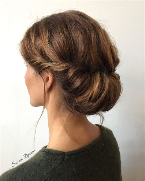 romantic updo for inverted triangle 30 beautiful wedding updos for 2018 elegant updos for