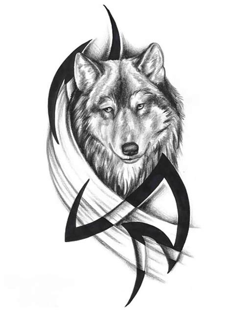 tribal wolf face tattoo 82 mind blowing wolf design ideas golfian