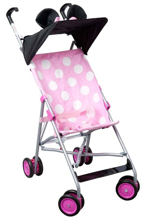 minnie mouse stroller disney minnie mouse folding umbrella stroller baby