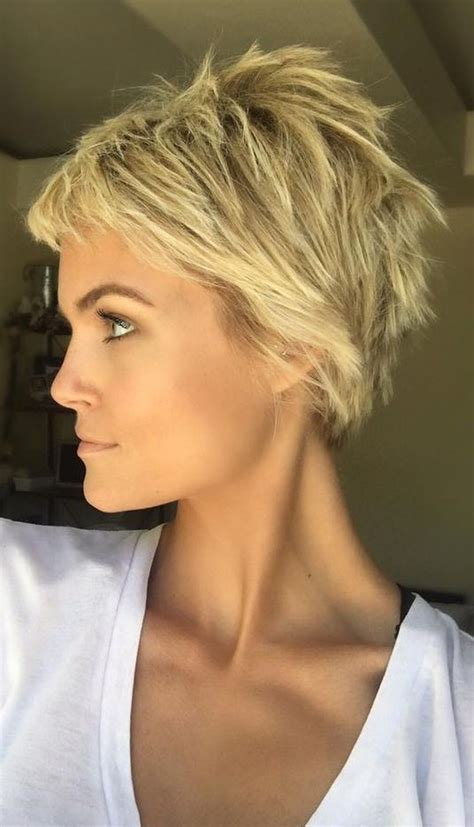 pixie haircutd with short neckline cool short pixie blonde hairstyle ideas 3 fashion best
