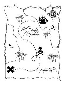 activity map template printable treasure map activity