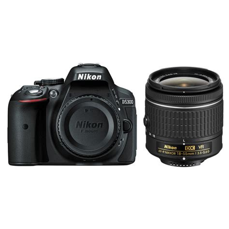 nikon  dslr camera  af p  mm lens black bh