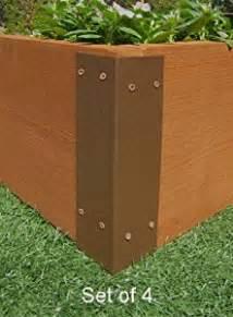 raised garden bed corner brackets for 12 quot h