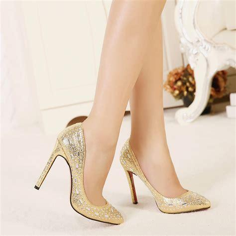 luxury high heels 2016 top fashion bling bling luxury rhinestore high heels