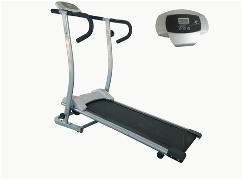 Treadmill Id 6638 M health fitness sf t1409m magnetic manual treadmill