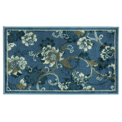 Bacova Rugs by Bacova Guild Studio Design Elise Blue Area Rug