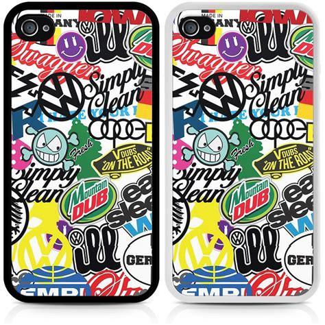 Valentino Sticker Bomb Iphone 6 6s Plus Casing Cover vw sticker bomb phone cover for apple iphone 4 4s 5 5s 5c 6 6 plus ebay