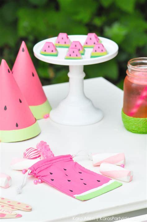 party themes diy kara s party ideas summer watermelon diy birthday party