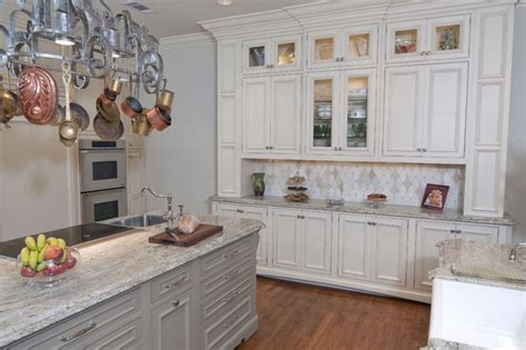 Kitchen Hutch Designs by Built In Hutch Area Traditional Kitchen Dallas By