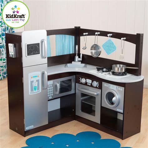 Kidkraft Espresso Kitchen by Kidkraft Espresso Grand Gourmet Kitchen 53302