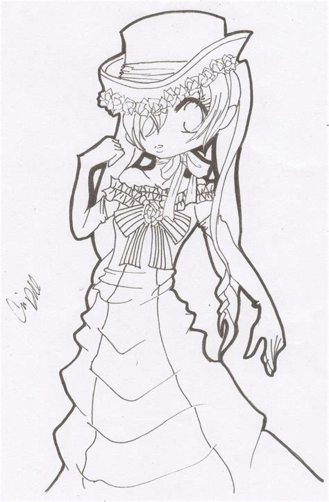 black butler girl ciel coloring sheets google search