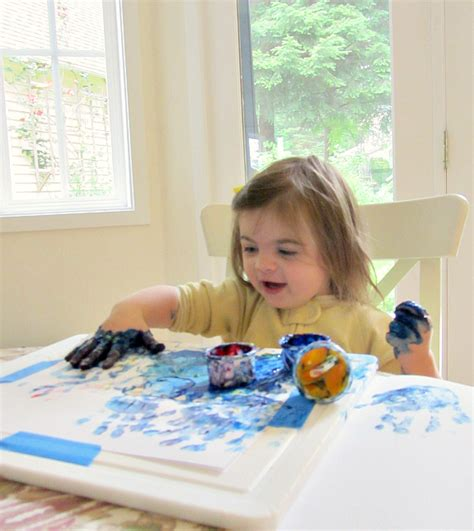 painting toddlers 9 tips for finger painting with your toddler no time for