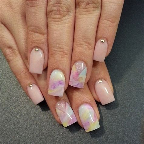 Fingernail Painting Ideas by 40 Watercolor Nail Designs Page 2 Design Birdy