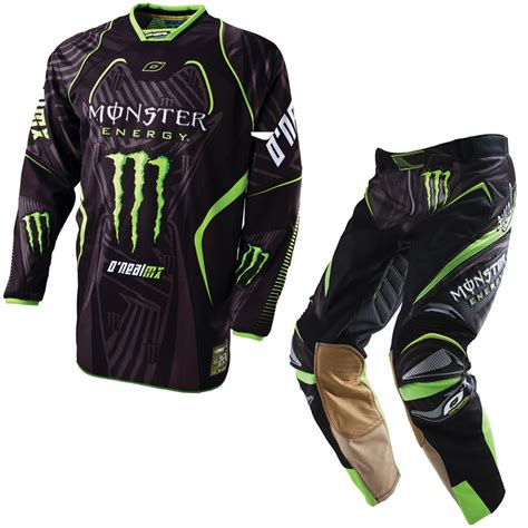 second motocross gear oneal 2011 hardwear ricky dietrich energy mx