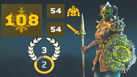 all gear for honor 108 gear rank with all heroic gear prestige 3