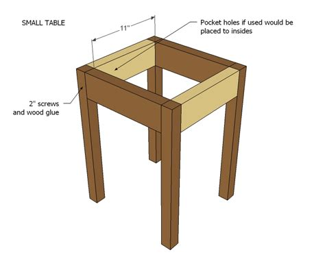 side table plans ana white preston nesting side tables diy projects