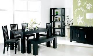 Black Modern Dining Room Sets B Amp B Fashion House Fashionable Dinning Room