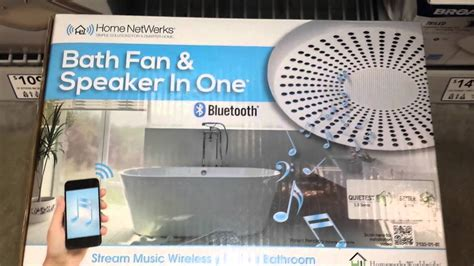 adding a fan to a bathroom your bluetooth music on a bathroom fan youtube