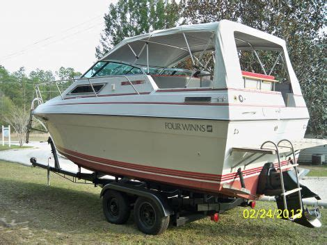 used four winns boats for sale by owner boats for sale 1989 28 foot four winns 245 vista cruiser