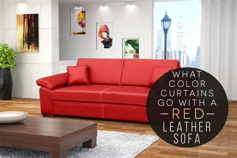 erica cbell red couch what color curtains go with a red leather sofa chicago