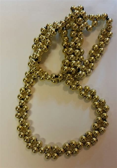 Handmade Gold Pendants - gold beaded necklace handmade
