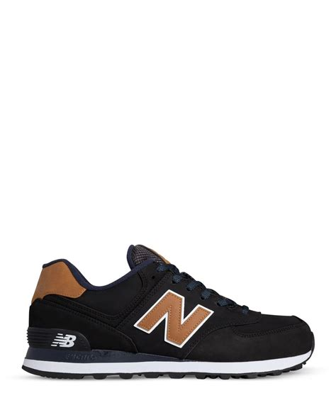 New Balance Black lyst new balance collection 574 sneakers in black
