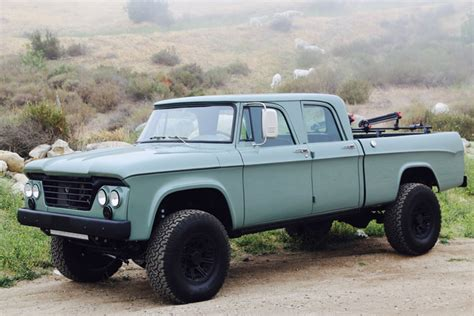 64 Dodge Power Wagon by Icon Brings New To The 64 Dodge Power Wagon