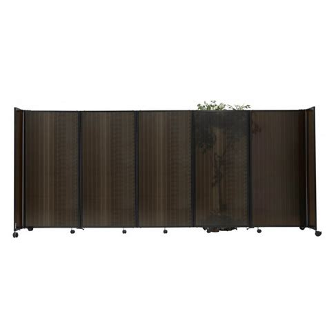 Versare Room Divider Opentip Versare Rd348p Room Divider 360 Accordion Portable Partition Polycarbonate Plastic
