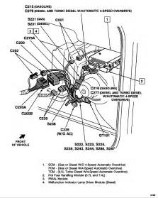 what is the physical location of the ecm for a 1993 chevy suburban 350 engine