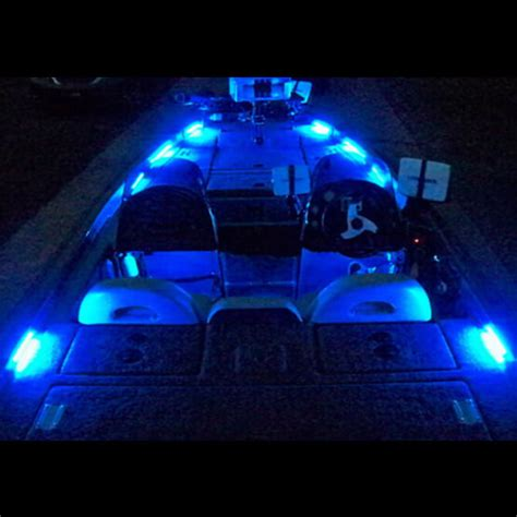 boat led deck lights rockwood led bass boat lighting systems - Installing Led Boat Deck Lights