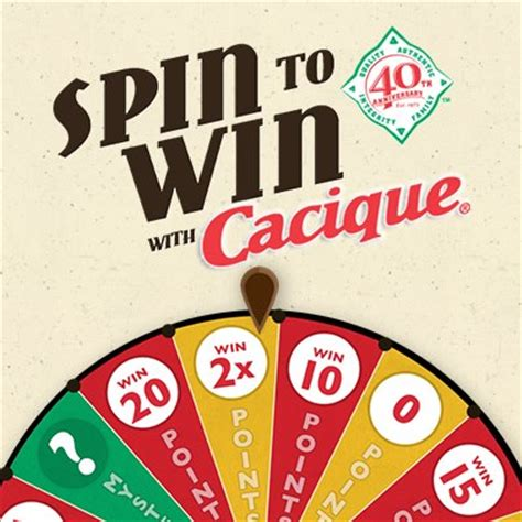 Spin To Win Money - cacique spin to win game win free cheese money saving mom 174