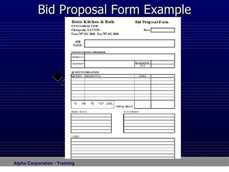 proposal template 187 electrical proposal template free