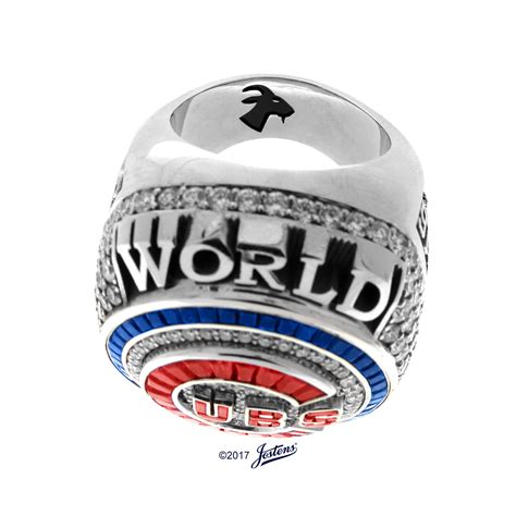 cubs rings the cubs put a goat on the only chionship ring in