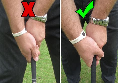 loose grip golf swing golf tip how to lower ball flight golfmagic