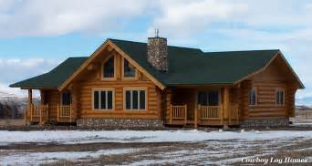 ranch style log home plans ranch floor plans log homes ranch style log home plans