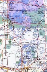 cass county map cass county minnesota maps hotels motels vacation
