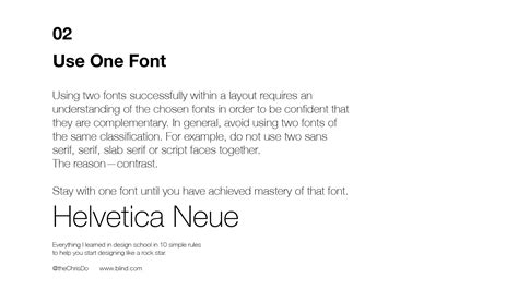 design font rules 10 typography rules blind