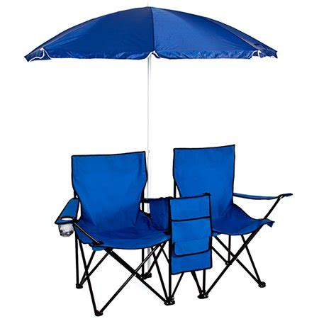 chair with umbrella attached walmart best choice products picnic folding chair with