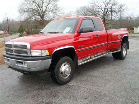 electric and cars manual 1998 dodge ram 3500 parking system buy used 1998 dodge ram 3500 4x4 5 speed manual 5 9 cummins diesel mexican block not a 53 in