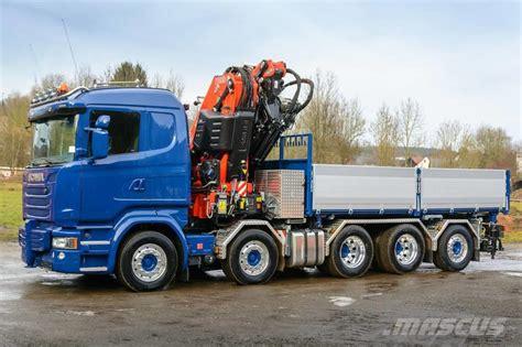 used scania r 490 crane trucks year 2017 price 473 746
