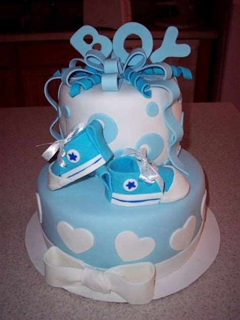 good inspiration baby boy shower cakes and impressive best