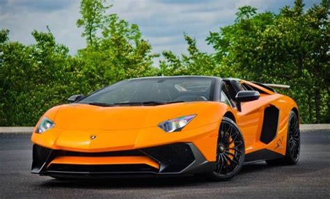 arancio ishtar lamborghini aventador sv roadster listed for 800k
