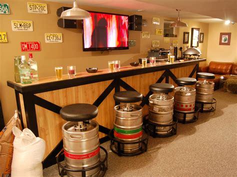 keg bar stools diy keg bar stools hgtv design design happens