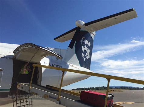 horizon air dash 8 q400 economy class bellingham to seattle sanspotter